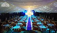 98′ x 164′ Luxury Wedding Tent for 800 – 1000ppl Grand Ceremony