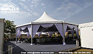 Hexagon Octagon Pyramid Tent Canopy for Banquet | Wedding Marquee