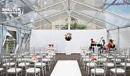 Clear Tent Sales for A Romantic Wedding Outdoor in a Winery, Farmhouse