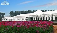 20*70m Hybrid Marquee - Tent Solution for an Modern Summer Wedding
