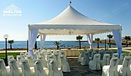 High Peak Tent Sale for Destination Wedding Venue Canopy| Tent Supplier