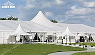 Wedding in Elegant Hybrid Tent to Make Your Ceremony Party Memorable