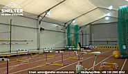 Aluminum Training Shed - Fabric Structure - Clear Span Tent Manufacturer