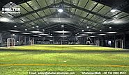 Insulated Sport Structures for Indoor Football & Soccer Field - Sports Tent