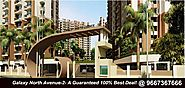 Get full sunlight view of Galaxy North Avenue 2 Cheapest Price in Gaur City 2 – Galaxy Poject