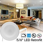 Top 10 Best LED Recessed Lighting Retrofit Kits Reviews 2018-2019 on Flipboard
