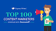 The Top 100 Content Marketers (2018 Report) - Express Writers