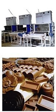 Chocolate Enrober Coating Machine | Manufacturer in Delhi | Laxmi Engineering Works