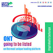 ONT going to be listed on the most unique trading platform Cryptobulls Exchange