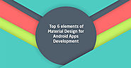 Elements of Android Material App Design
