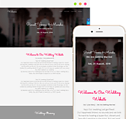 Create Your Personalised Wedding Website for Free