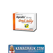 Apcalis Jelly Contains the Same Potency of Cialis and Stays Effective on Erection for 36 Hours - kamagra-uk.over-blog...