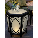 Lighted Side Table- Country Living-Outdoor Living-Patio Furniture-Tables & Side Tables