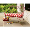 Amherst Wire Bench- Country Living-Outdoor Living-Patio Furniture-Benches, Loveseats & Settees