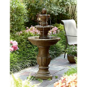 3 Tier Fountain*- Garden Oasis-Outdoor Living-Outdoor Decor-Fountains & Pumps