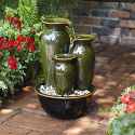 Cascade Vase Fountain--Outdoor Living-Outdoor Decor-Fountains & Pumps