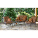 Riley 4 Pc. Seating Set- La-Z-Boy-Outdoor Living-Patio Furniture-Casual Seating Sets
