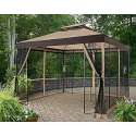 10 Ft. x 10 Ft. Arrow Gazebo- Garden Oasis-Outdoor Living-Gazebos, Canopies & Pergolas-Gazebos