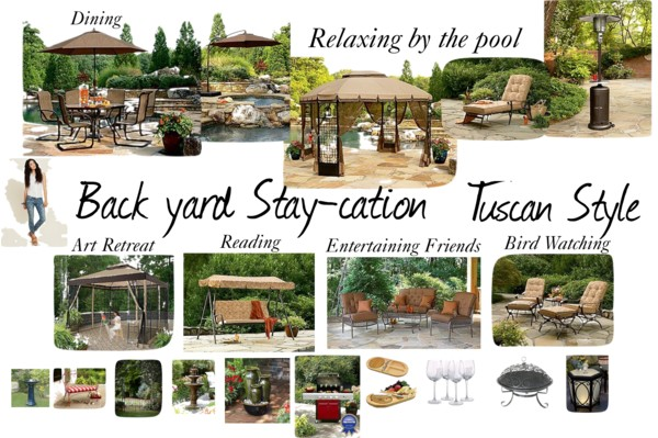 Headline for Back Yard Dream Stay-Cation