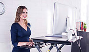 Best Standing Desk for Mac / MacBook Pro / Air : Adjustable Sit-Stand Table