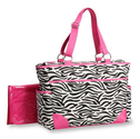 Out 'n About Zebra Print Diaper Bag by Carter's