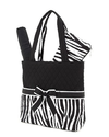 Quilted Zebra Print 3pc Diaper Bag
