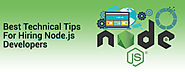 Things To Keep In Mind While Hiring a Node.js Developer