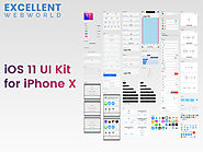 iOS 11 Ui Kit For iPhone X by Excellent WebWorld - Dribbble