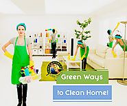 Clean Your Home in the Green Way with These 4 Tips