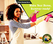 5 House Cleaning Tips to Make your Home Summer-ready