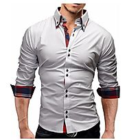 Pick the Best Slim Fit Long Sleeve Shirt for Men's To Look Slim Instantly