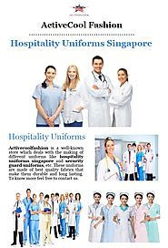How Hospitality Uniforms Singapore Boost the Morale of the Employees?