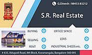 1 BHK for Rent in Koramangala | Best PG Accommodation | S R Real Estate