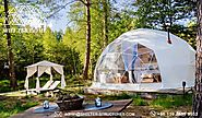 7m Glamping Dome Suite For Sale - Geodesic Dome Tents For Glamping Village