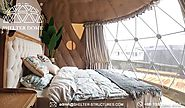 6m Geodesic Igloo with Bathroom Facilities for Glamping Dome Suites - SHELTER