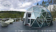 Glass Dome House for Lounge - Geodesic Garden Dome - Shelter Dome