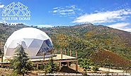 Geodesic Glamping Tent for A Mountain Retreat - Shelter Dome
