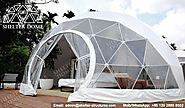 7m Glamping Domes Served as Eco-luxury Hotel Rooms - Shelter Dome
