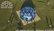 Polycarbonate Greenhouse for Sale - Eco Dome Tent - Shelter Dome