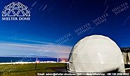 Dia.6m Ecodome for Resort - Steel Dome Homes for Sale - Shelter Dome