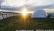 Dia.10m Geodesic Dome Home - Living Dome for Sale - Shelter Dome