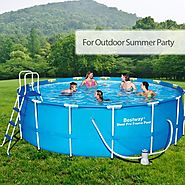 What You Should Know before Buying and Installing an Above-Ground Swimming Pool | Cool Camping Tips & Tricks at Outba...