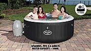 17 Luxe Design Ideas for Your Blow Up Spa | Cool Camping Tips & Tricks at Outbaxcamping