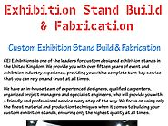 Exhibition stand build & fabrication