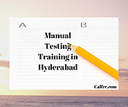 Manual Testing Training in Hyderabad