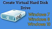 Create Virtual Hard Disk Drive