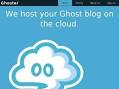 Ghoster - host your Ghost blog