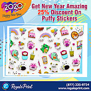 Get New Year Amazing Deal On Puffy Stickers - RegaloPrint