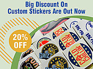 20% Discount On Custom Stickers Are Out Now - Regaloprint