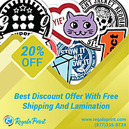 20% Discount with Free Shipping and Lamination - RegaloPrint